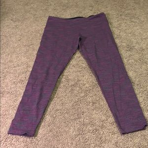 Purple Tuff Athletics leggings